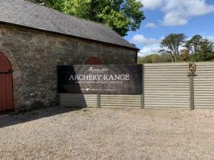 Archery Range at Winterfell Castle Ward